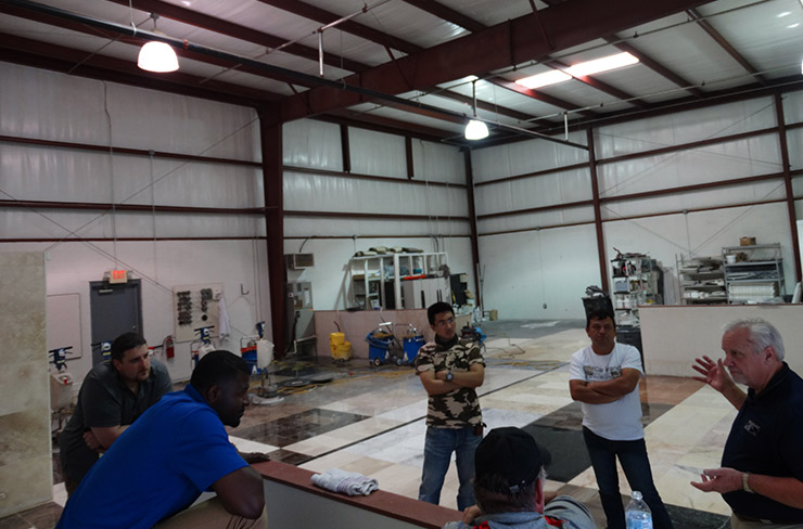 Largest Stone and Tile Training Facility in the World- DeBary, Florida